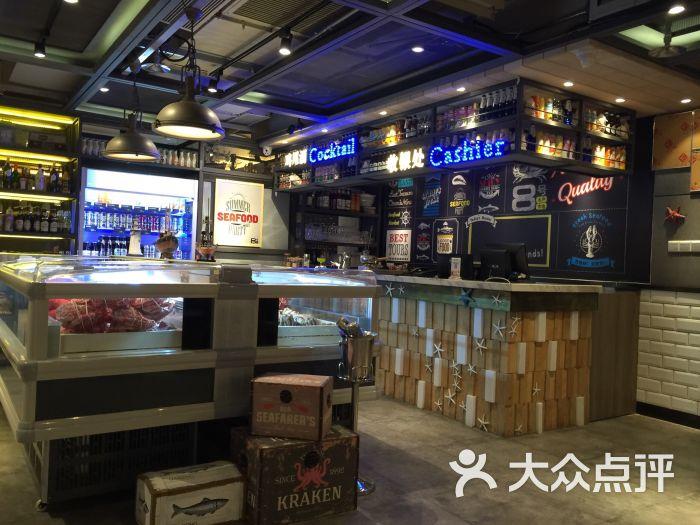 8号水产市场海鲜店